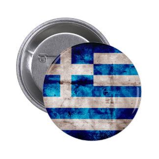 Flag of Greece Greek Button
