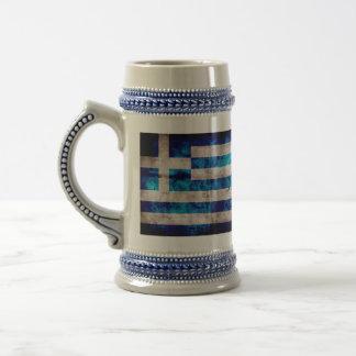 Flag of Greece; Greek Coffee Mugs