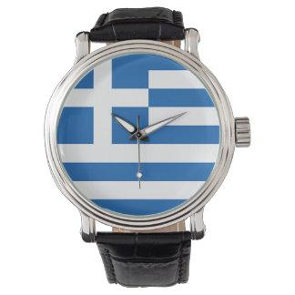 Flag of Greece, Greek Wrist Watch