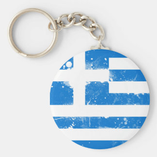 Flag of Greece Keychain