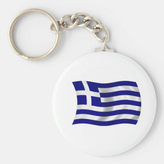 Flag of Greece Key Chains