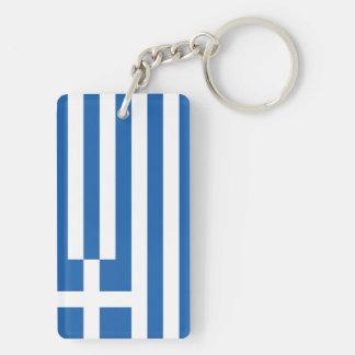 Flag of Greece Key Ring