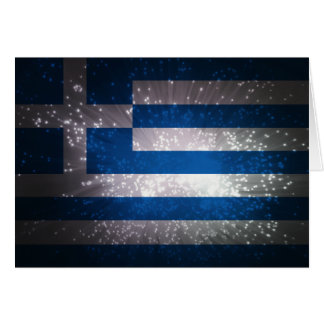 Flag of Greece Note Card
