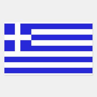 Flag of Greece Rectangular Sticker