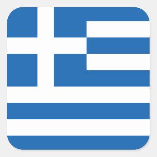 Flag of Greece Sticker (Square)