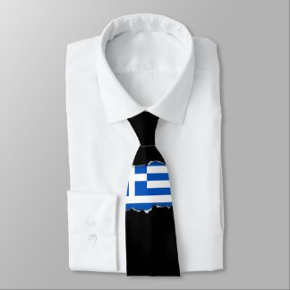Flag of Greece Tie