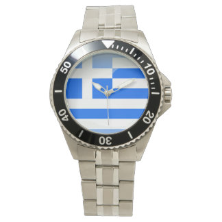Flag of Greece Watch