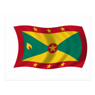 Flag of Grenada Postcard