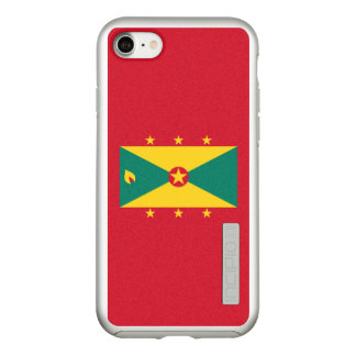 Flag of Grenada Silver iPhone Case