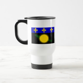 Flag of Guadeloupe Stainless Steel Travel Mug