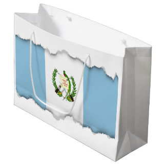 Flag of Guatamala Large Gift Bag