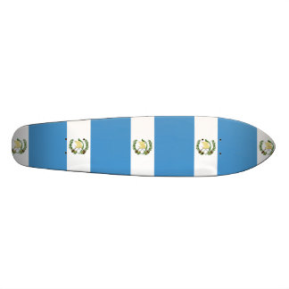 Flag of Guatemala - Central American 21.3 Cm Mini Skateboard Deck
