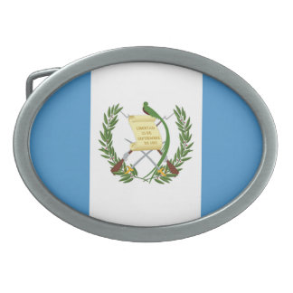 Flag of Guatemala - Central American Belt Buckles