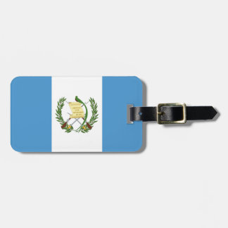 Flag of Guatemala - Central American Luggage Tag
