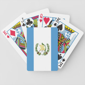 Flag of Guatemala - Central American Poker Deck
