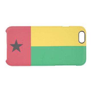 Flag of Guinea-Bissau Clear iPhone Case