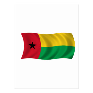 Flag of Guinea-Bissau Postcard