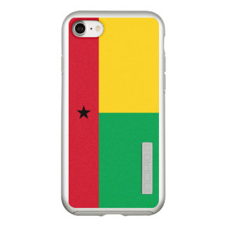 Flag of Guinea-Bissau Silver iPhone Case