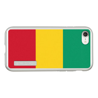 Flag of Guinea Silver iPhone Case