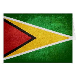 Flag of Guyana Greeting Cards