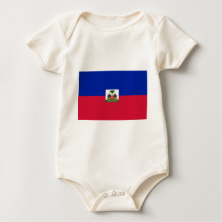 Flag_of_Haiti Baby Bodysuit