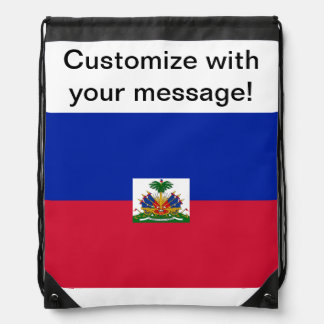Flag of Haiti Backpacks