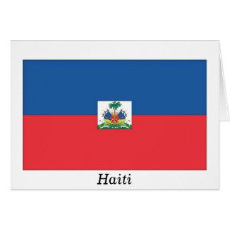 Flag of Haiti Greeting Card