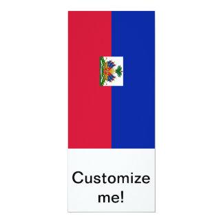 Flag of Haiti 10 Cm X 24 Cm Invitation Card