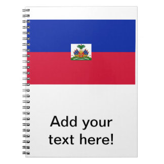 Flag of Haiti Spiral Note Book