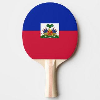 Flag of Haiti Ping Pong Paddle