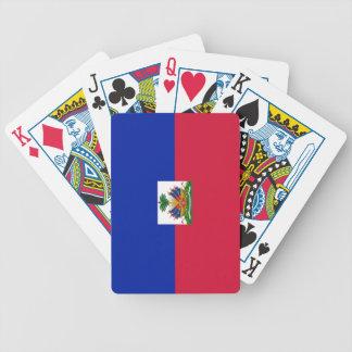 Flag of Haiti Poker Cards