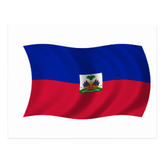 Flag of Haiti Postcard