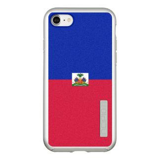 Flag of Haiti Silver iPhone Case