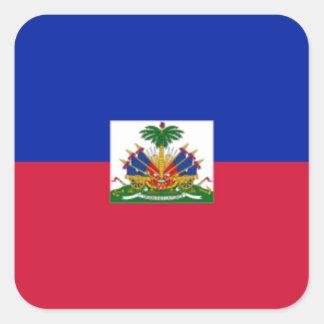 Flag of Haiti Square Sticker