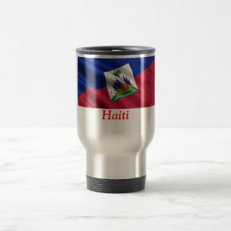 FLAG OF HAITI STAINLESS STEEL TRAVEL MUG