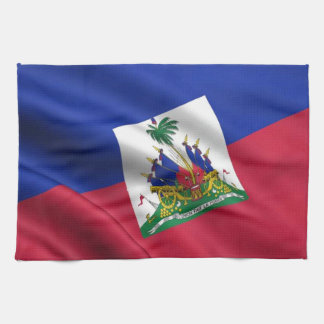 FLAG OF HAITI TOWELS