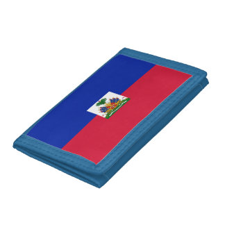 Flag of Haiti Tri-fold Wallets