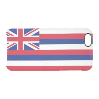 Flag of Hawaii Clear iPhone Case