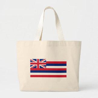 Flag_of_Hawaii Large Tote Bag