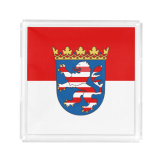 Flag of Hesse Acrylic Tray
