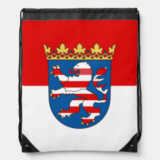 Flag of Hesse Drawstring Bag