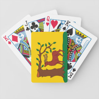 Flag of historic county of Berkshire Bicycle Playing Cards