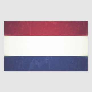 Flag of Holland Rectangular Sticker
