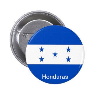 Flag of Honduras 6 Cm Round Badge