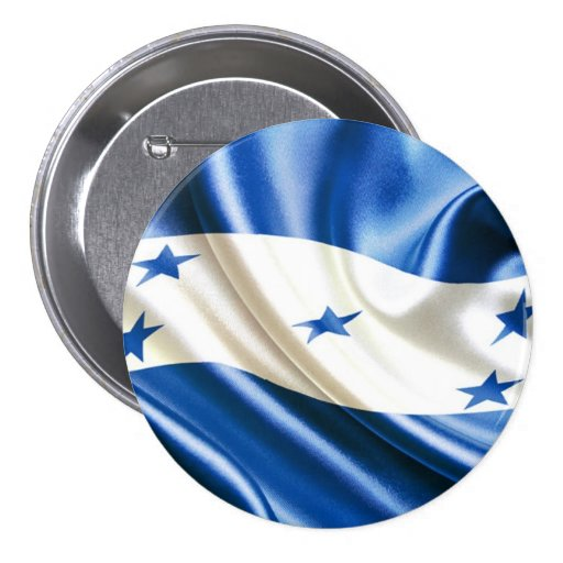 FLAG OF HONDURAS PINBACK BUTTON