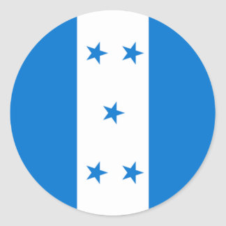 Honduras Flag Stickers Zazzlecomau - Honduran flag