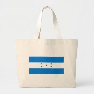 Flag of Honduras - Bandera Hondureña de Honduras Large Tote Bag