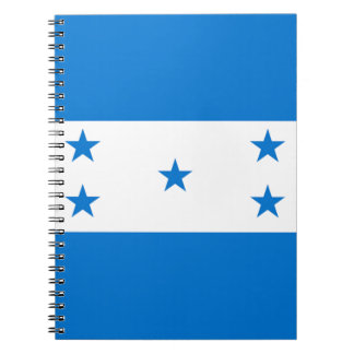 Flag of Honduras - Bandera Hondureña de Honduras Notebook