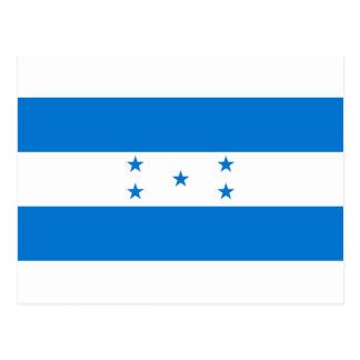 Flag of Honduras - Bandera Hondureña de Honduras Postcard
