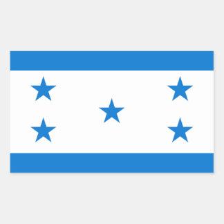 Flag of Honduras - Bandera Hondureña de Honduras Rectangular Sticker